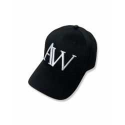 Black unisex cap