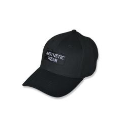 Black box logo ponytail cap