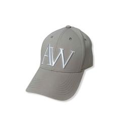 Grey unisex cap