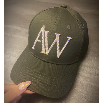 Limited edition AW ponytail cap, green